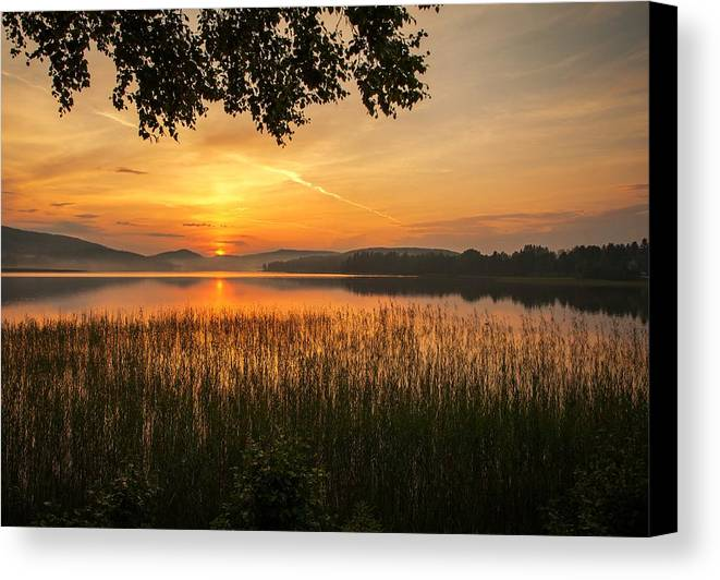 Sky Canvas Print featuring the photograph Beautiful View by Rose-Maries Pictures