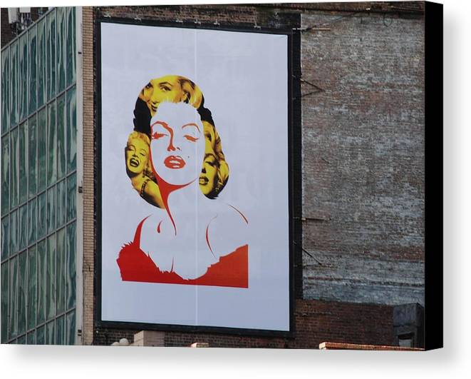 Marilyn Monroe Canvas Print featuring the photograph Marilyn Monroe by Rob Hans