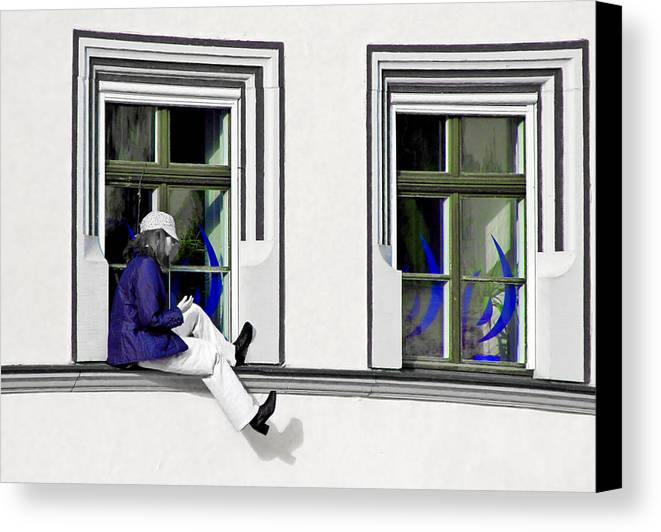 Weimar Canvas Print featuring the photograph Weimar Girl by Christine Till