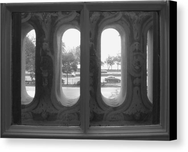 Window Canvas Print featuring the photograph Lake Shore Drive by Anna Villarreal Garbis