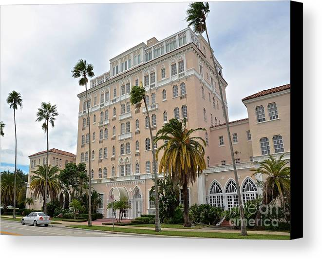 Hotel Canvas Print featuring the photograph Marisol by Carol Bradley