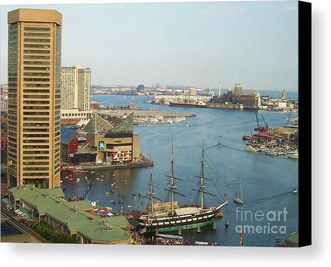 Baltimore Canvas Print featuring the photograph Baltimore by Debbi Granruth