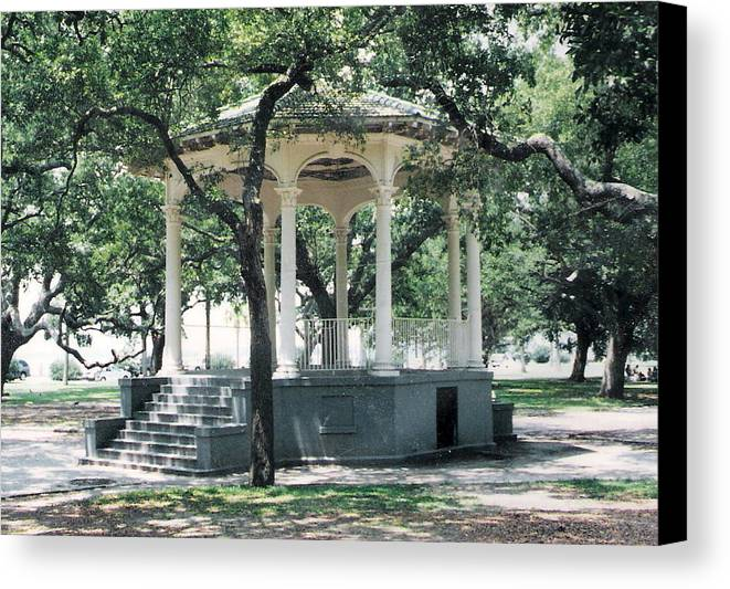 Charleston Gazebo Canvas Print Canvas Art By Felix Turner