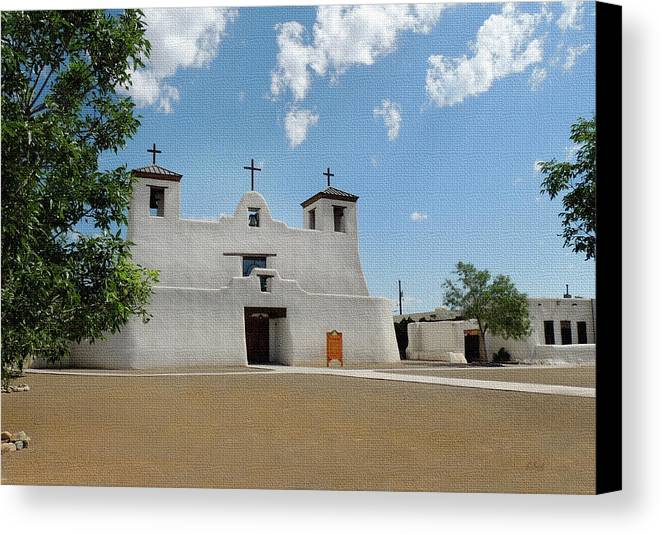 Isleta Mission Canvas Print Canvas Art By Gordon Beck