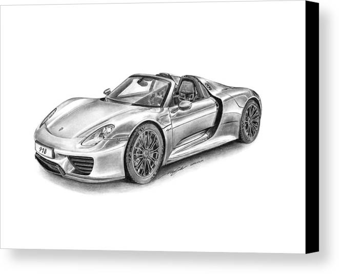 Porsche 918 Spyder Canvas Print / Canvas Art by Gabor Vida on porsche boxster drawings, porsche cayenne drawings, hennessey venom gt drawings, porsche macan drawings, sports car drawings, lamborghini drawings, porsche concept drawings, porsche panamera drawings, chevrolet camaro drawings, porsche 962 drawings, nissan gt-r drawings, fiat 500 drawings, bugatti veyron drawings, porsche turbo drawings, porsche carrera drawings, porsche 550 spyder drawings, still life pencil drawings, porsche carrera gt, bmw i8 spyder drawings,