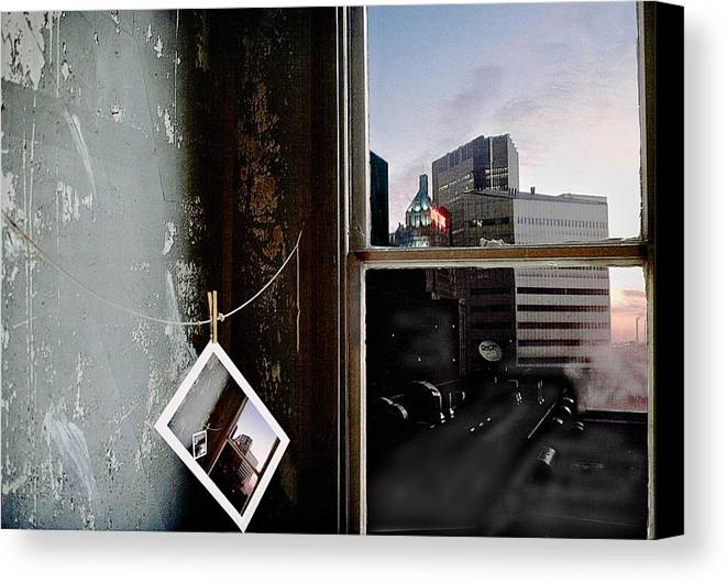 Window Canvas Print featuring the photograph Pre-visualization by Peter J Sucy