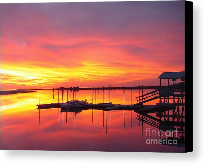 Sunsets Canvas Print featuring the photograph Seeing Is Believing by Debbie May