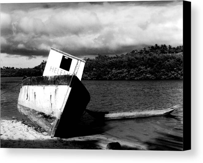 Boat Canvas Print featuring the photograph Two Boats by Amarildo Correa