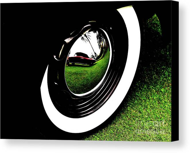 Wheel Art Canvas Print featuring the photograph Wheel Art 2 by Lisa Renee Ludlum