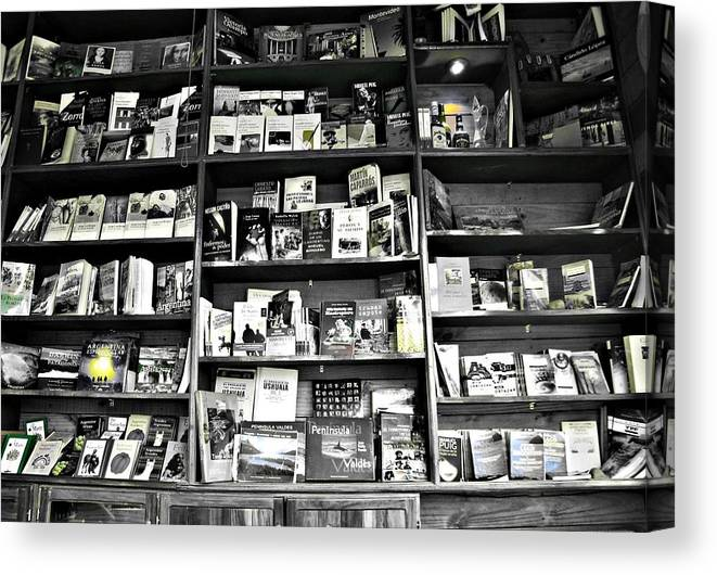 Books Canvas Print featuring the photograph Read by Sabrina Vera