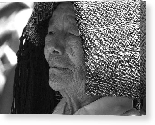 Portrait Canvas Print featuring the photograph Blocking The Sun by David Resnikoff