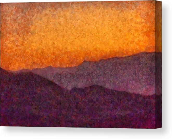Savad Canvas Print featuring the photograph City - Arizona - Rolling Hills by Mike Savad