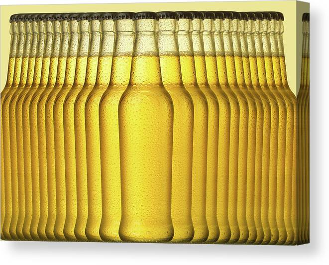 Alcohol Canvas Print featuring the photograph Beer by Jeremy Hudson