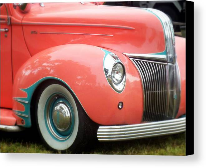 Pink Canvas Print featuring the photograph Oh Happy Day by Karen Wiles