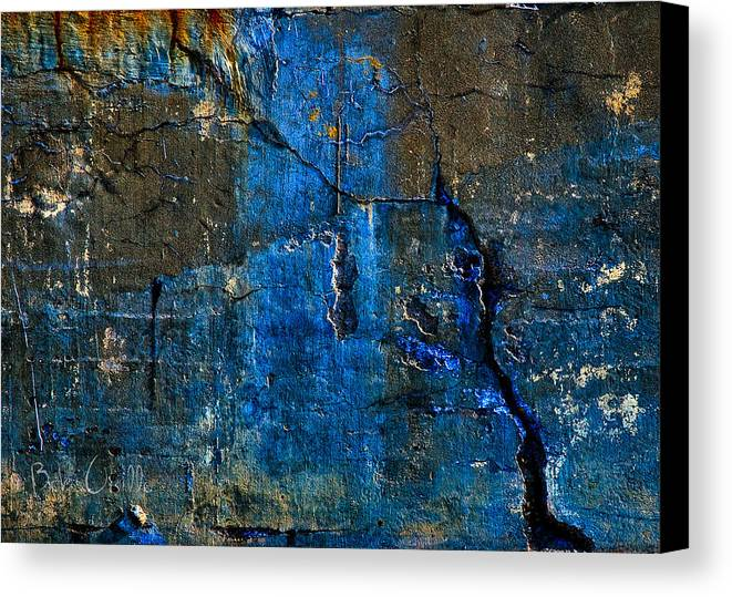 Industrial Canvas Print featuring the photograph Foundation Three by Bob Orsillo