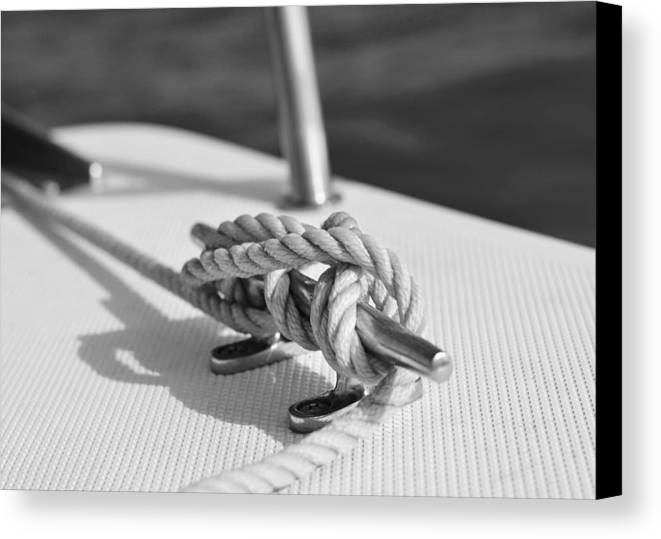 Laura Fasulo Canvas Print featuring the photograph Nautical by Laura Fasulo