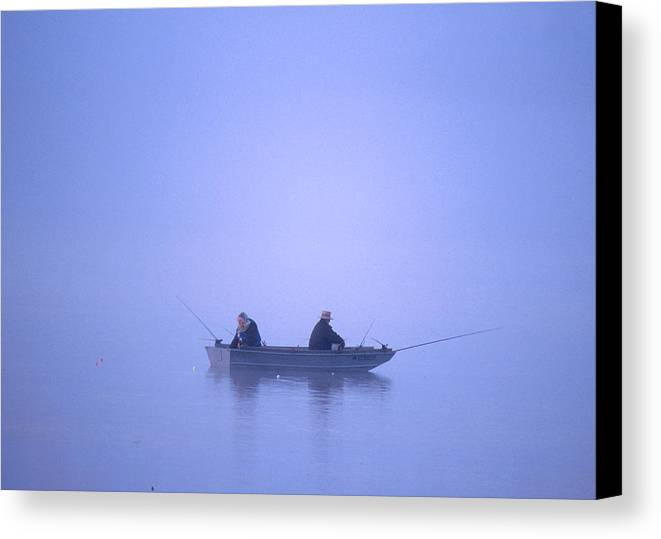 Lonely Canvas Print featuring the photograph Solitude by Patrick M Lynch