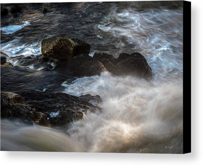 River Canvas Print featuring the photograph Spring Thaw II by Bob Orsillo