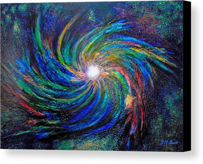 Digital Canvas Print featuring the painting Star Birth by Michael Durst