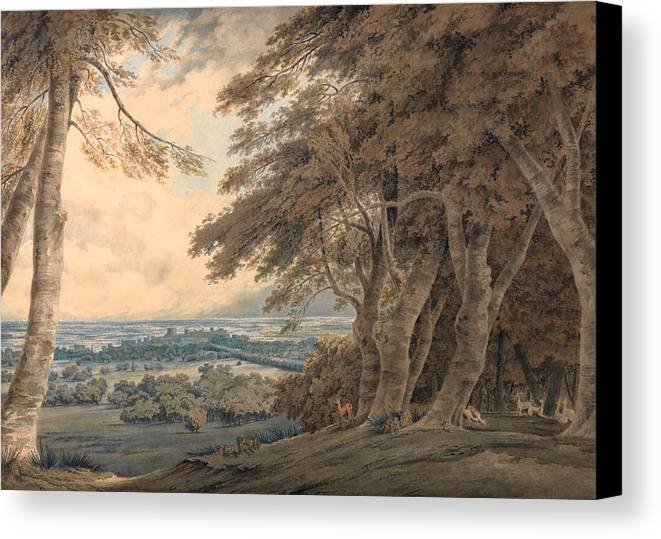 1798 Canvas Print featuring the painting Windsor by JMW Turner