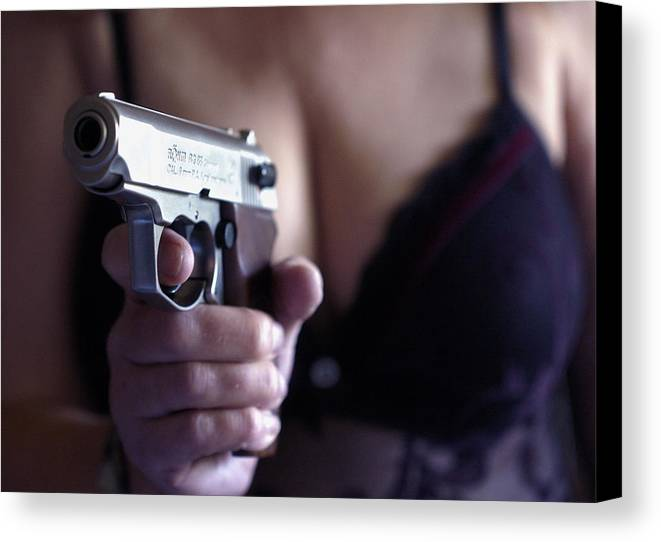 Sex And Crime Canvas Print featuring the photograph Sex And Crime by Franz Roth