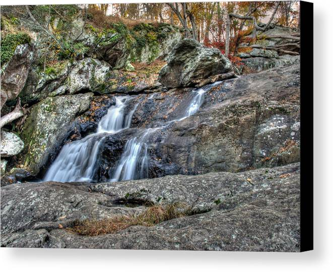 Cunningham Falls Canvas Print featuring the photograph Cunningham Falls by Mark Dodd