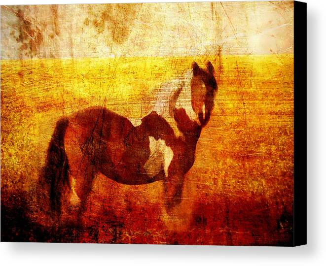 Brett Canvas Print featuring the digital art Home Series - Strength And Grace by Brett Pfister