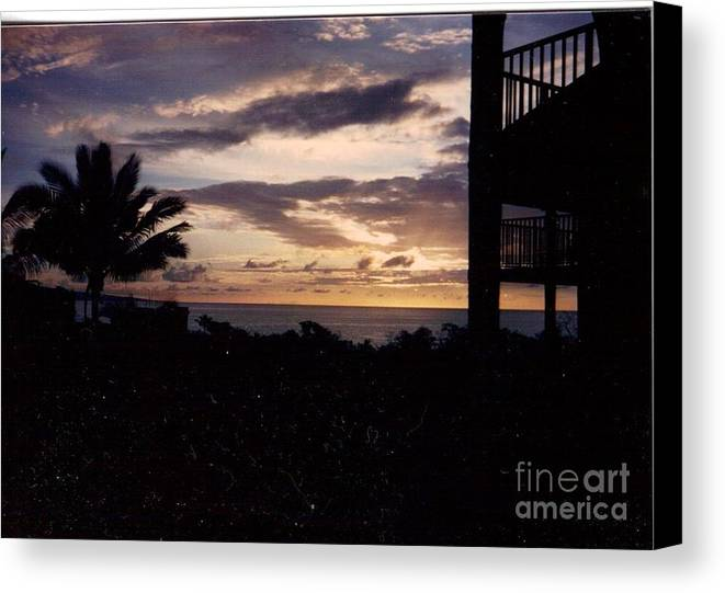 Lani Canvas Print featuring the photograph Lani Sunset Mauai by Debbie Wassmann