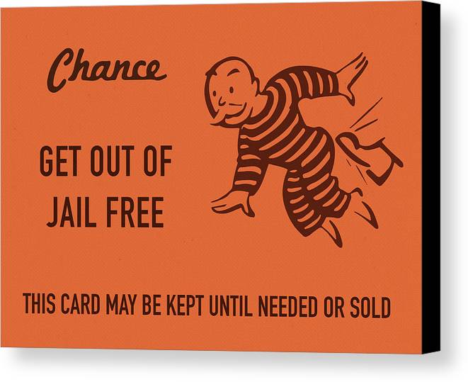 how to get out of jail in monopoly uk