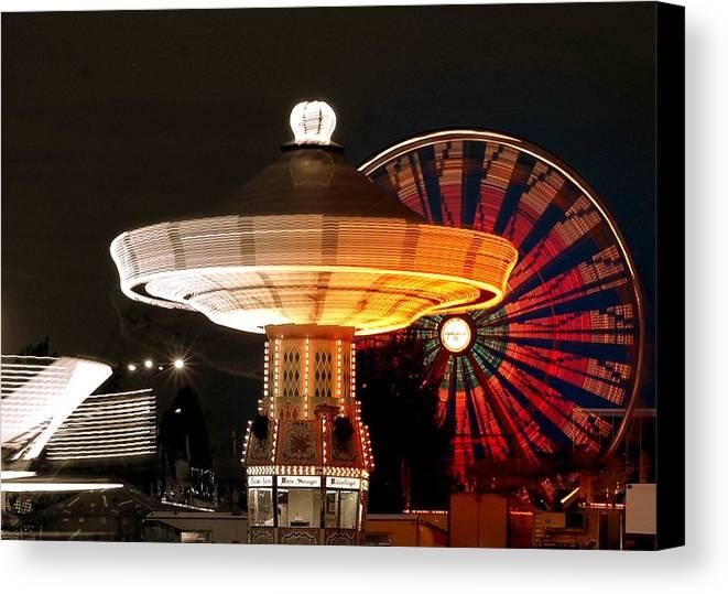 Fair Canvas Print featuring the photograph Fair Fun by Scott Gould