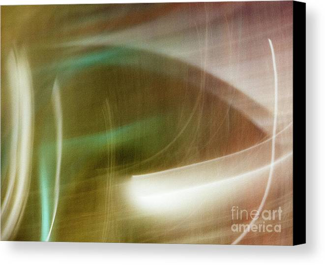 Abstract Canvas Print featuring the photograph Fluide by Dorothy Hilde