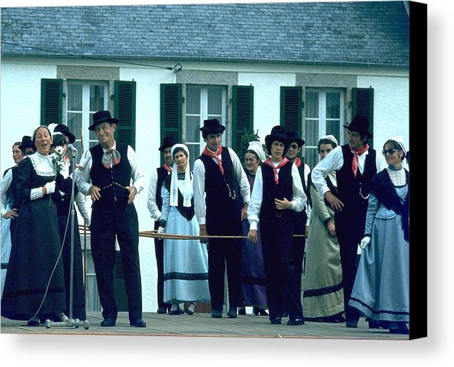 Tradition Canvas Print featuring the photograph Folk Music by Flavia Westerwelle