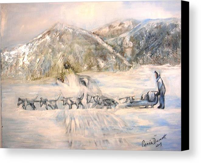 Animal Art Canvas Print featuring the painting Heaven's Call by Renee Dumont Museum Quality Oil Paintings Dumont