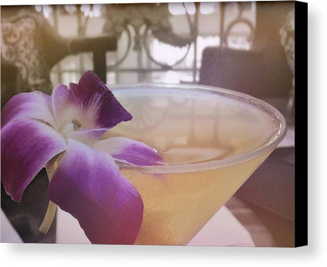 Hawaii Canvas Print featuring the photograph Island Happy Hour by JAMART Photography
