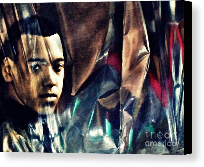 Young Man Canvas Print featuring the photograph Luke by Sarah Loft