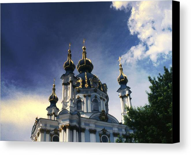 Church Canvas Print featuring the photograph Palace by Wes Shinn