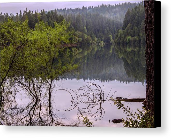 Landscape Canvas Print featuring the photograph Serenity by Jeanette Hunter