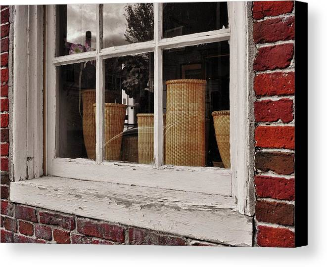 Nantucket Canvas Print featuring the photograph Simple Nantucket by JAMART Photography