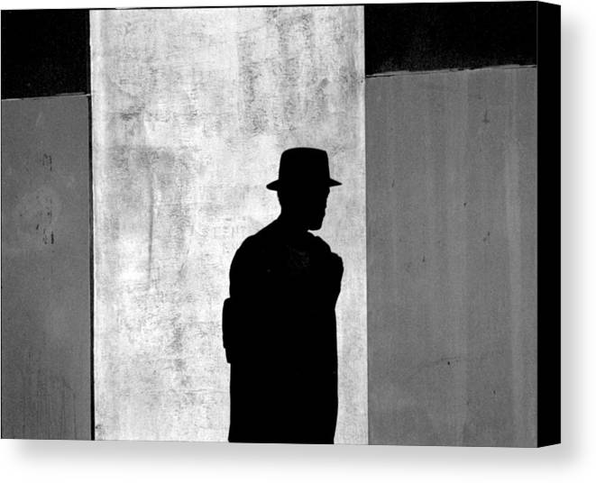 Abstract Canvas Print featuring the photograph The Last Time I Saw Joe by Steven Huszar