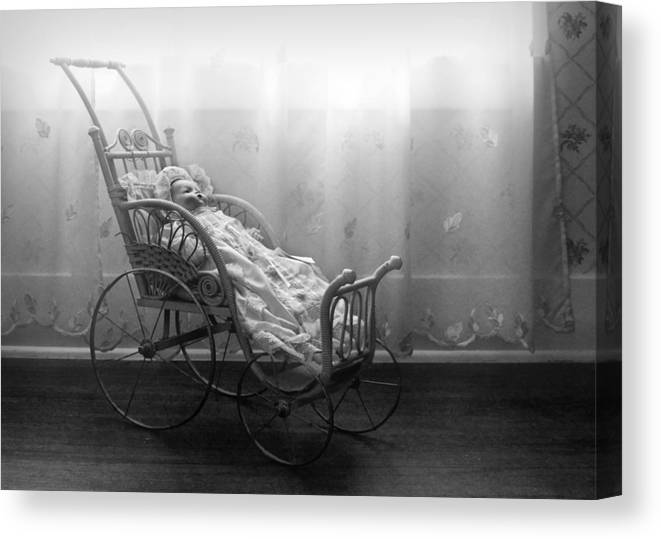 Bess Streeter Aldrich Canvas Print featuring the photograph Lullaby by Nikolyn McDonald
