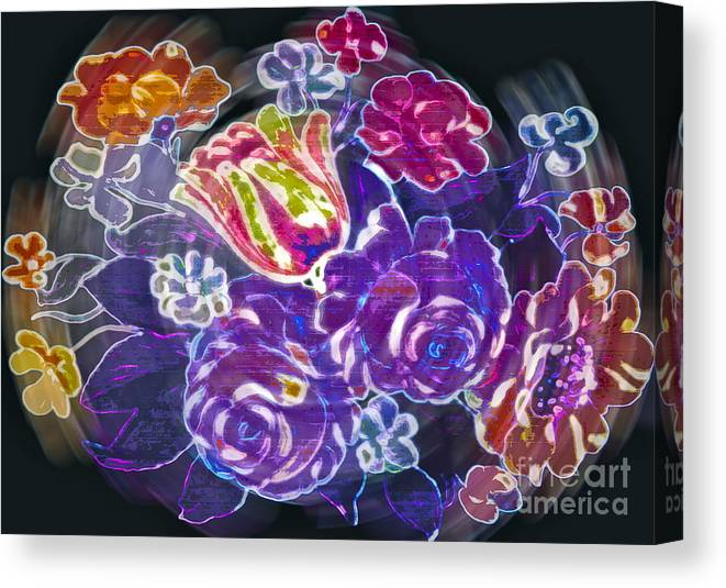 Flower Canvas Print featuring the photograph Lost Treasures by Gwyn Newcombe