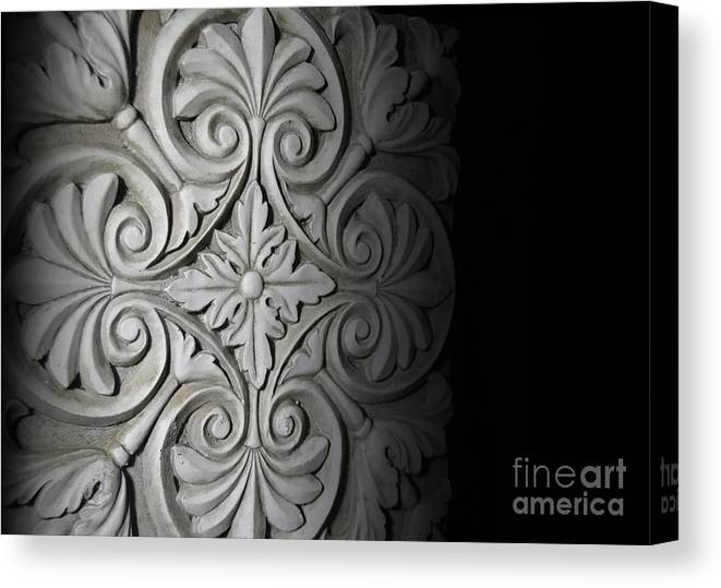 Architecture Canvas Print featuring the photograph Architecture Detail by Jose Luis Reyes