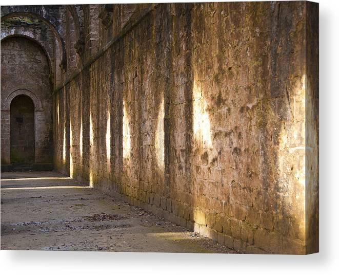 Castle Canvas Print featuring the photograph Light And Shadows by Svetlana Sewell
