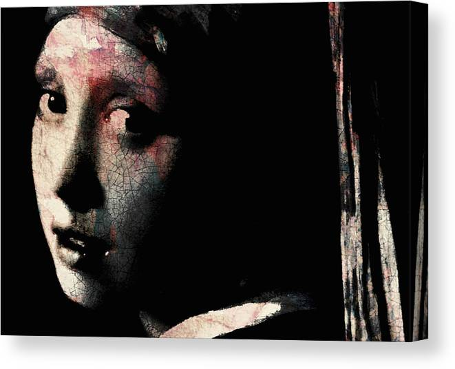 Painting Canvas Print featuring the painting Catch Your Dreams Before The Slip Away by Paul Lovering