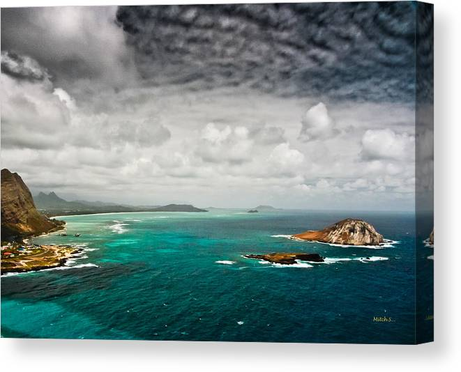 Going Coastal Canvas Print featuring the photograph Going Coastal by Mitch Shindelbower