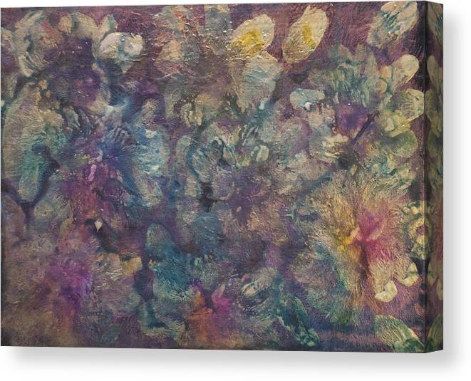 Mother Of Pearl Canvas Print featuring the painting Mother Of Pearl by Don Wright