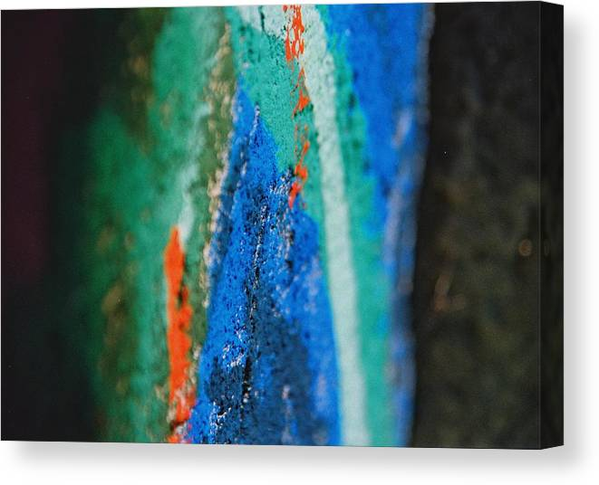 Color Canvas Print featuring the photograph Radiating Colors by IlchaSV BeeDreamy