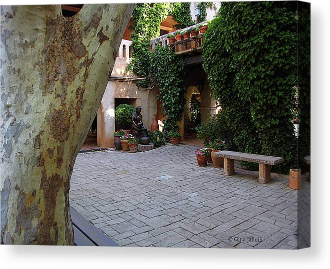 Sedona Canvas Print featuring the photograph Restful Morning by Gina Janelli