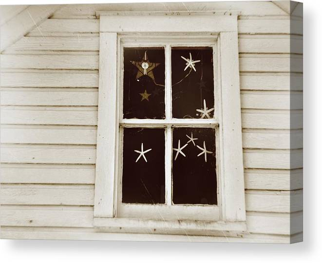 Window Canvas Print featuring the photograph Superstars by JAMART Photography