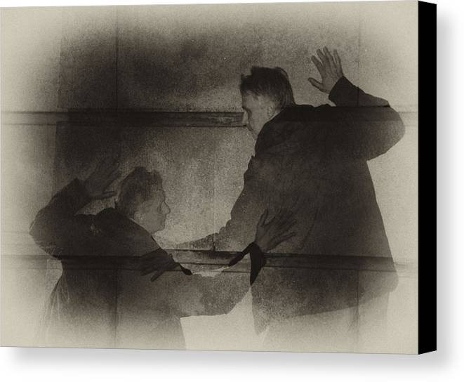 Surreal Canvas Print featuring the photograph Listen Very Closely And You'll Hear by Jim Cook